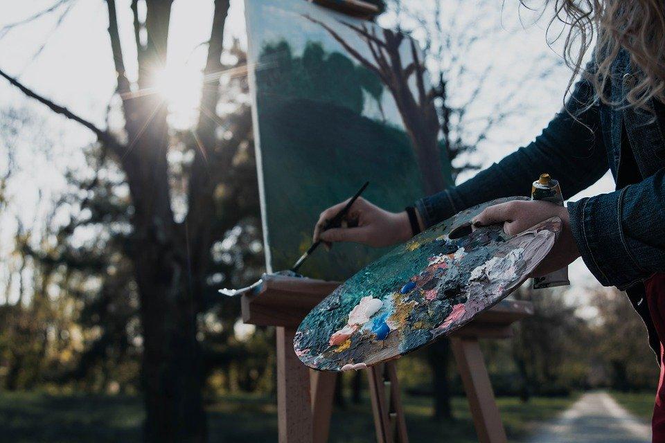 Les types de peinture pour les artistes peintres